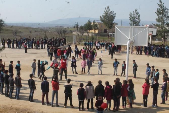 Kozluk'ta çocuklara unutulmaya yüz tutmuş spor dalları tanıtıldı