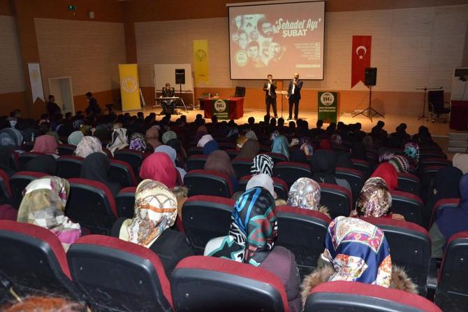 Bilge Gençlik Kulübünden şubat ayı şehadet programı