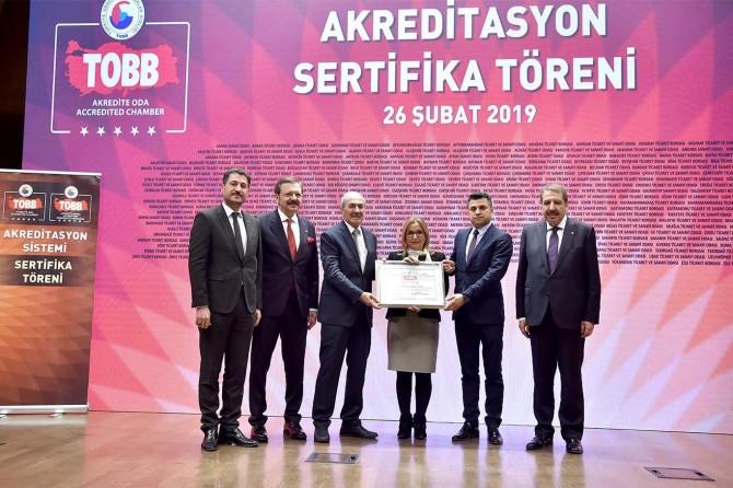 Kızıltepe Ticaret Borsası Türkiye birincisi oldu