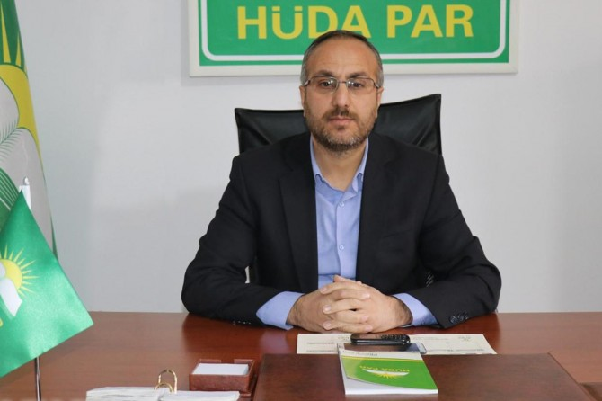 HÜDA PAR Bingöl İl Başkanlığından 28 Şubat açıklaması