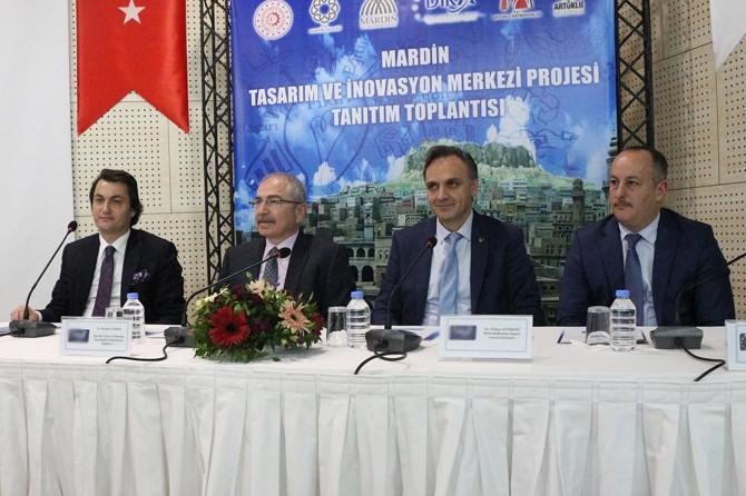 Mardin Tasarım ve İnovasyon Merkezi projesi tanıtıldı
