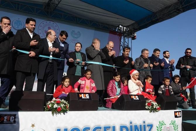 Bakan Soylu Diyarbakır'da Kur'an kursu açılışına katıldı