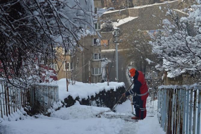 Doğu Anadolu için buzlanma ve çığ uyarısı