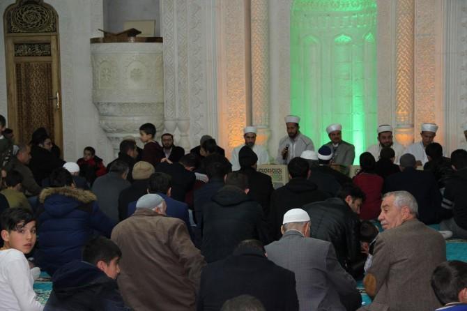 Midyat'ta Regaib Kandili dualarla İhya edildi