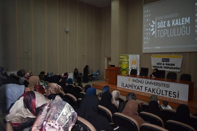 Malatya'da Bireyden Topluma Mahremiyetin Varlığı konferansı