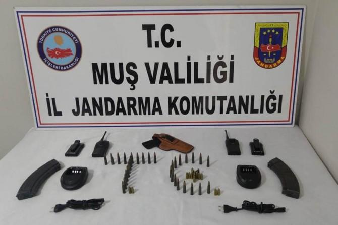 Muş'ta PKK operasyonu: 8 gözaltı