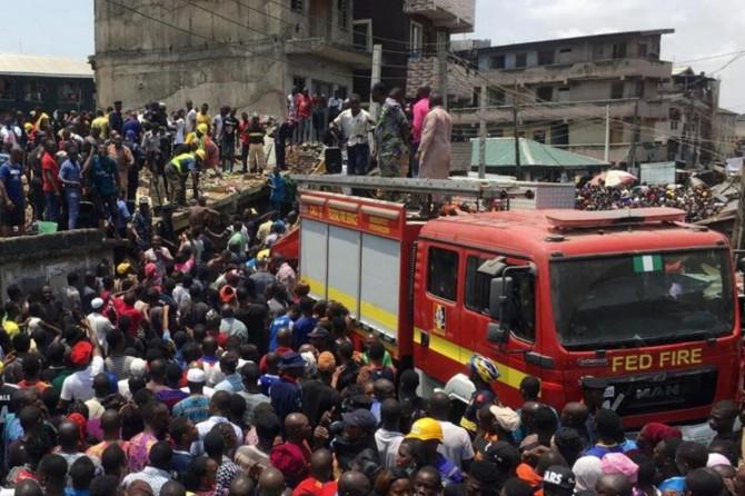 School building collapses in Nigeria