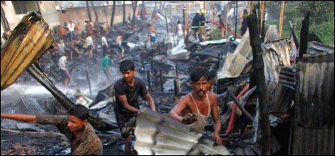 Dakka'daki yangında 120 kişi öldü