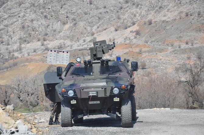 Batman'da PKK'ye ait mühimmat ele geçirildi