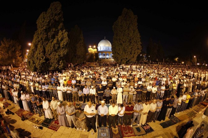 Terorîstên îşxalker mecbûr man ku derîyên Mescîda Eqsayê veklin
