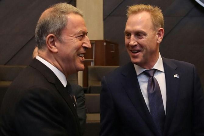 Millî Savunma Bakanı Akar ABD'li mevkidaşıyla görüştü