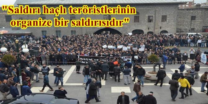 Saldırı haçlı teröristlerinin organize bir saldırısıdır