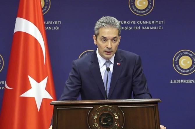 Türkiye Yunanistan'ın Ege açıklamalarına tepki gösterdi