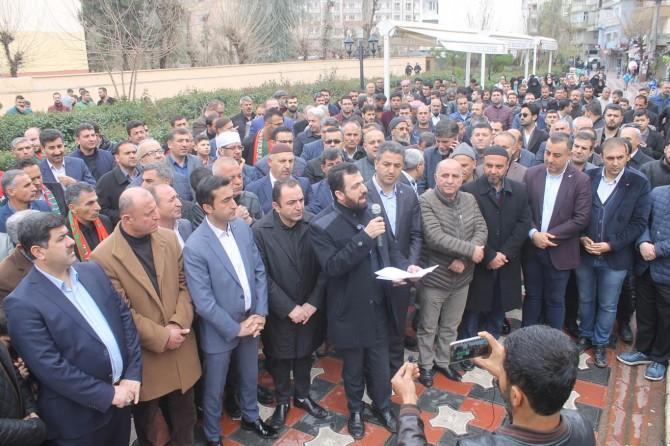 Haçlı terörü Cizre'de telin edildi