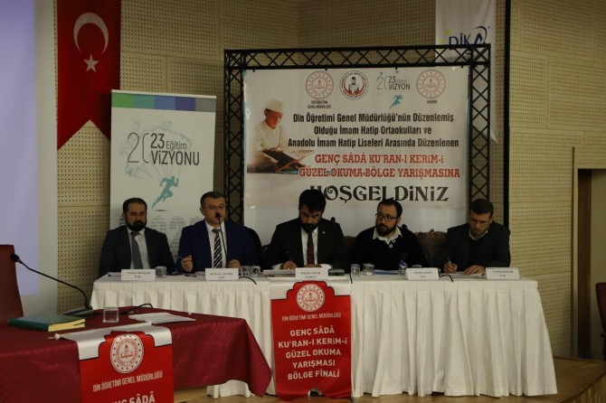 """""""Genç Seda Kur'an-ı Kerim'i Güzel Okuma Yarışması""""nın bölge finali"""