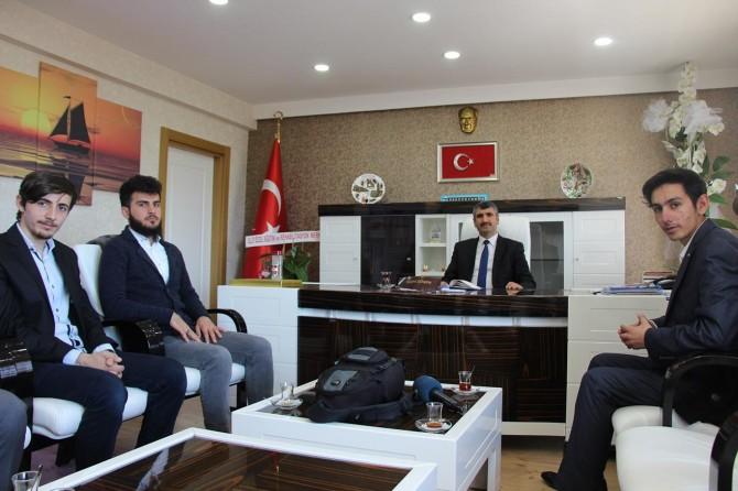 Fırat Üniversitesi Rehber Öğrenci Topluluğundan Gençlik ve Spor İl Müdürüne ziyaret