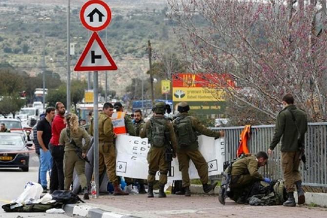Siyonistlerden Filistinlilerin evlerine baskın