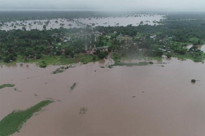 Mozambik'te sel ve kasırga: En az bin ölü