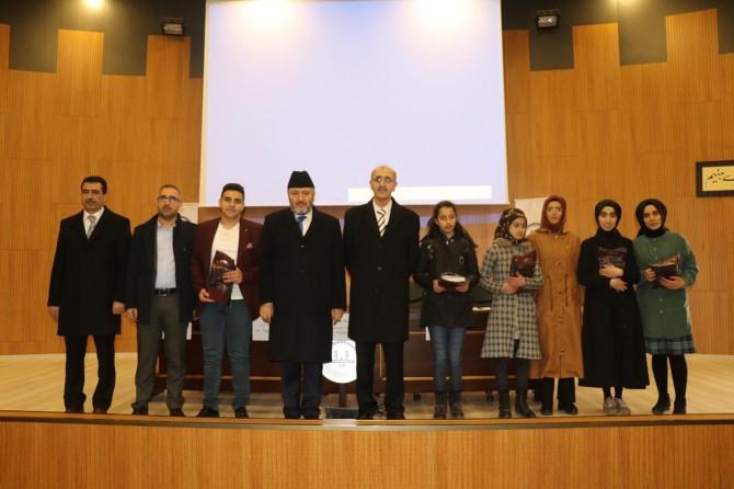"""Bingöl'de """"Çanakkale Şehitlerine"""" şiirini ezbere okuma yarışması"""