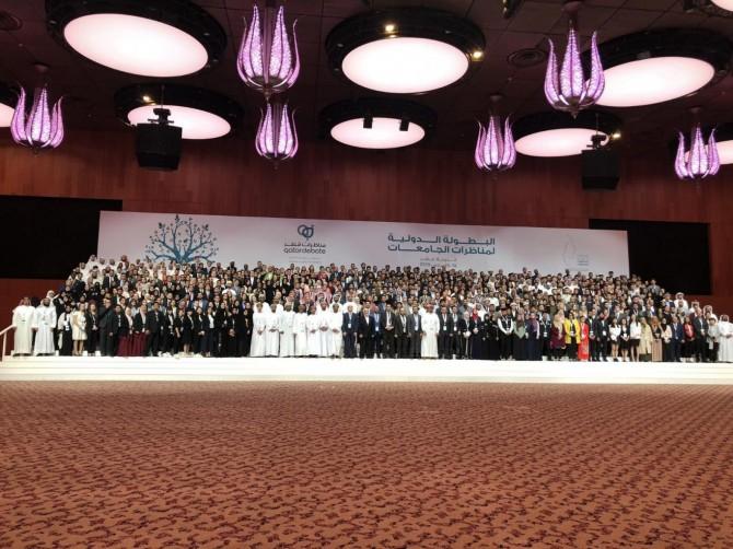 Doha'da 5. Uluslarararası Katar Arapça Münazara Yarışması yapıldı