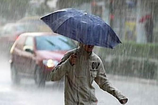 Bazı bölgelerde kısa süreli sağanak yağışlar etkili olacak
