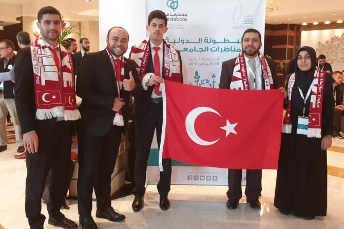 Artuklu Üniversitesi öğrencileri dünya üçüncüsü oldu