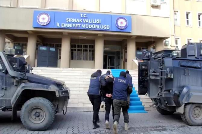 Şırnak'ta uyuşturucu operasyonu: 11 gözaltı