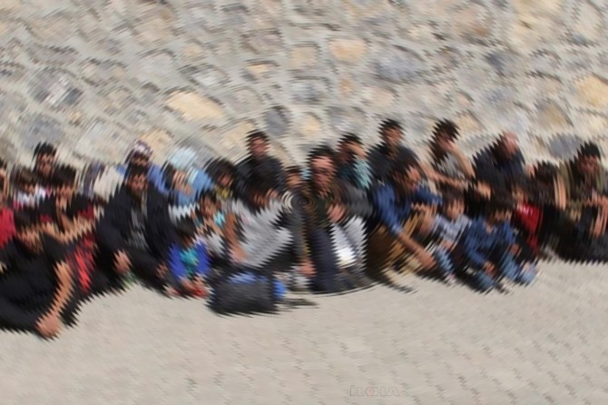 Bingöl'de 195 düzensiz göçmen yakalandı