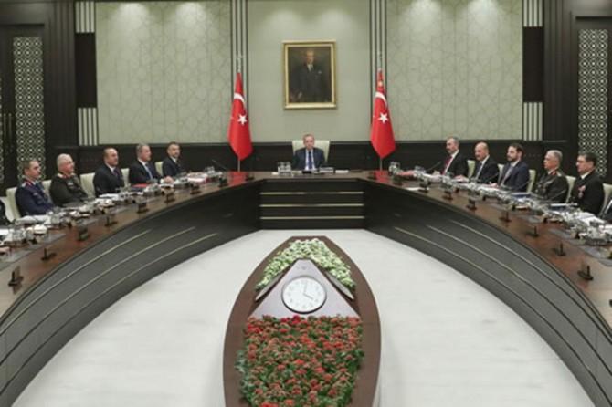 MGK toplantısında iç ve dış gelişmeler ele alındı