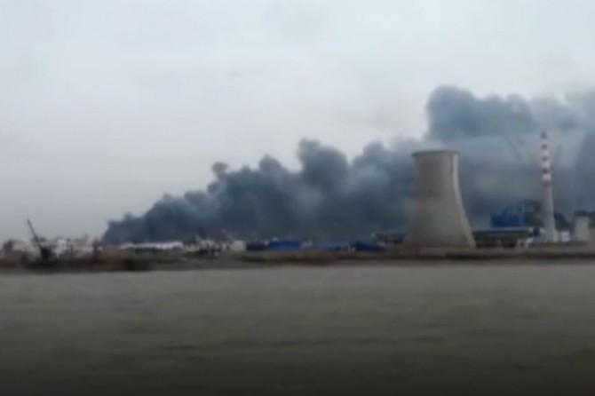 Çinde patlama: 6 ölü 30 yaralı