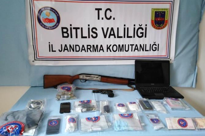Bitlis merkezli uyuşturucu operasyonu: 18 gözaltı