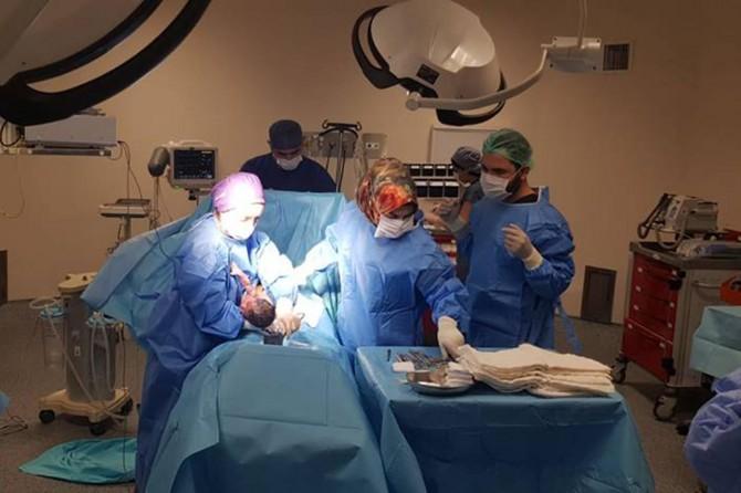 Hilvan Devlet Hastanesinde ameliyat bölümü hizmete açıldı
