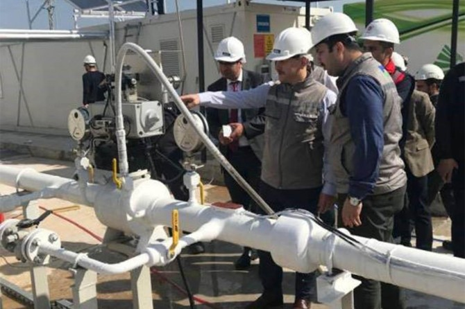 Viranşehir'e doğal gaz müjdesi
