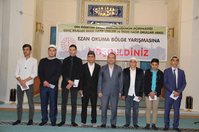 Genç Bilaller Ezanı Güzel Okuma yarışması bölge finali Bitlis'te yapıldı