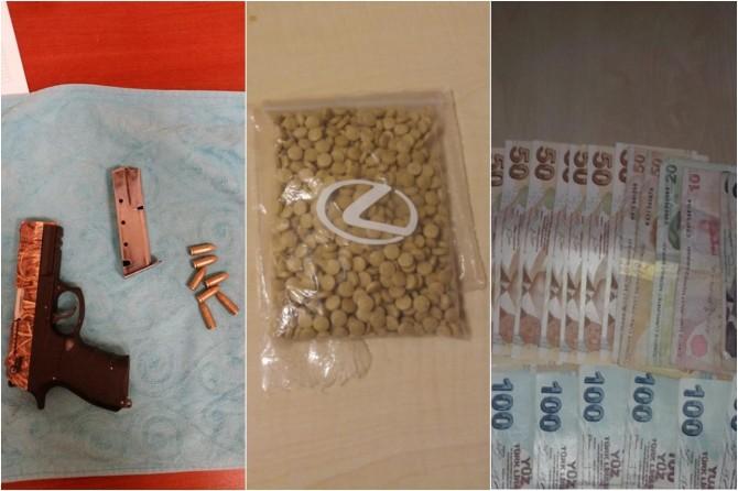 Gaziantep'te uyuşturucu satışı yaparken suçüstü yakalandı