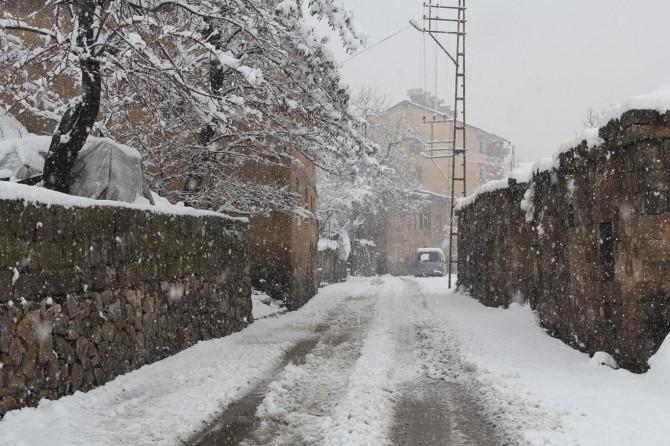 Bitlis'te 60 köy yolu kar nedeniyle ulaşıma kapandı