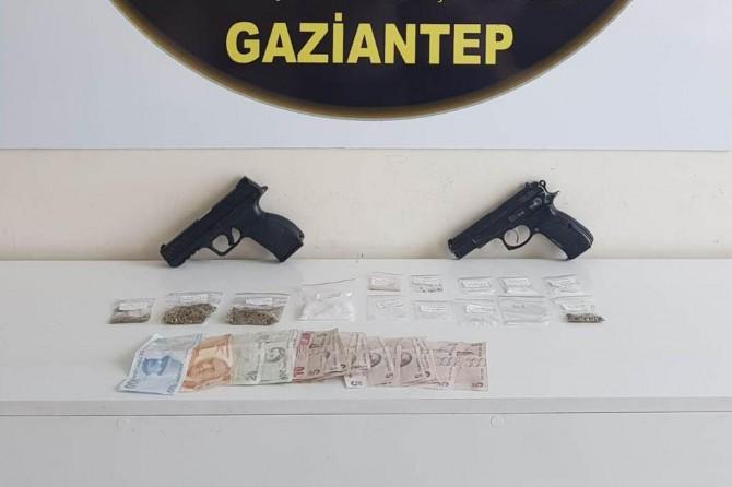 Gaziantep Şahinbey'de torbacı operasyonu: 18 gözaltı