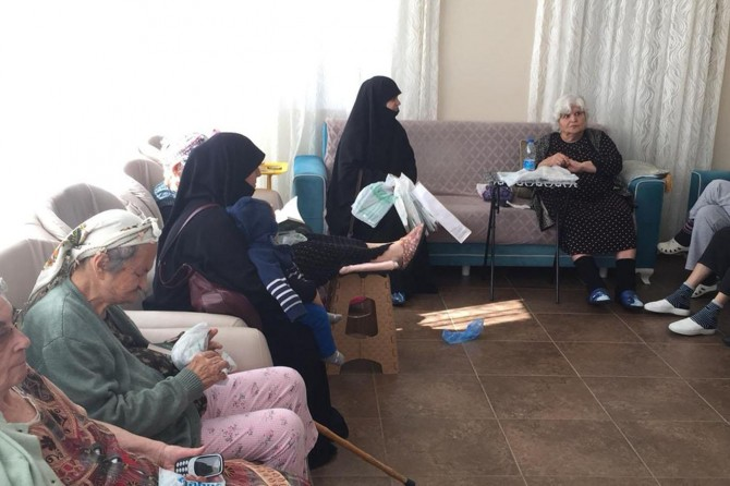 TESSEP Ankara Temsilciliği yaşlıları ziyaret etti