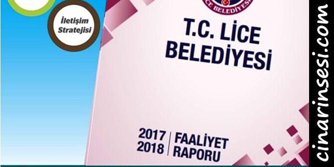 Lice Belediyesi 2 yıllık faaliyet raporunu yayınladı