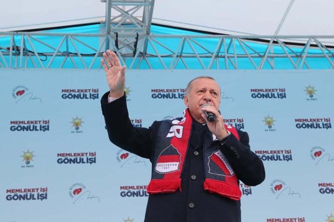 Türkiye'nin güçlü olması kardeşlerimizin huzur içinde yaşaması anlamına geliyor