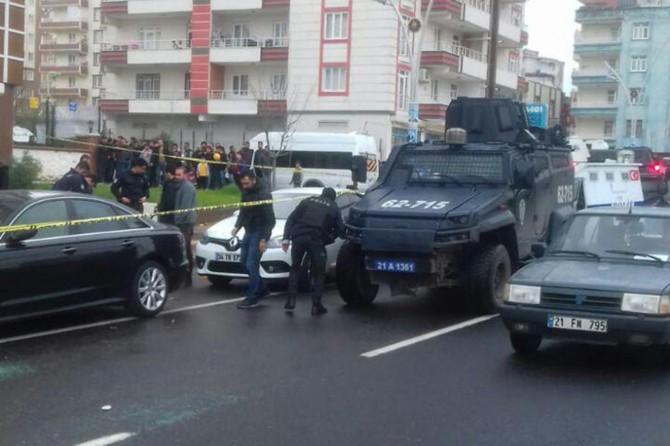 Diyarbakır Yeni Hal Pazarı civarında silahlı kavga: 2 yaralı