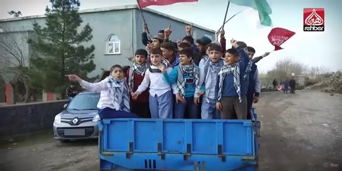 Çınar Alabaş'ta ilahi klibi çekildi