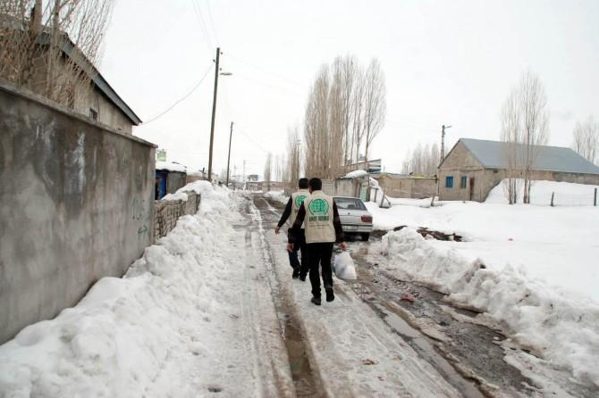 Umut Kervanı Ağrı'daki 3 aylık faaliyet raporunu açıkladı