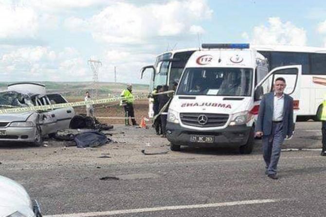 Çınar Başaklı yakınlarında motosiklet ile kaza geçiren imam hayatını kaybetti