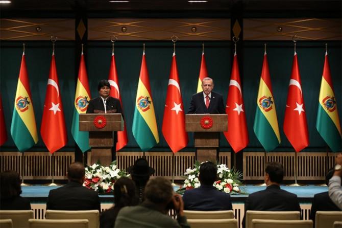 Bolivya'nın Filistin davasına verdiği desteğe teşekkür ediyoruz