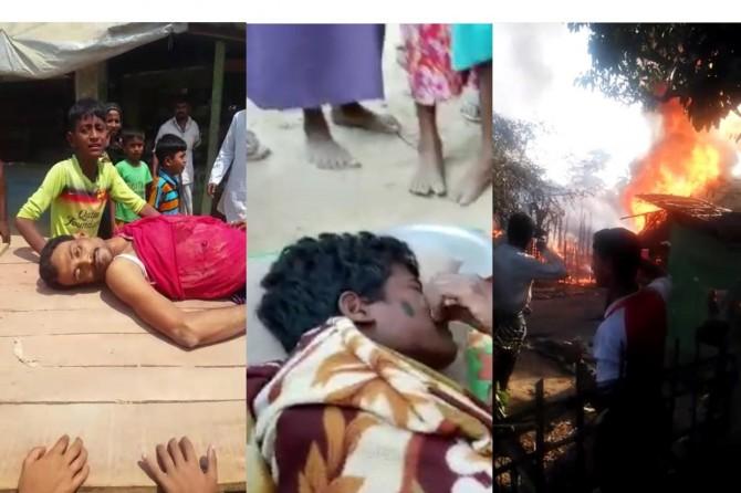 Myanmar army continues its massacres against Arakanese Muslims