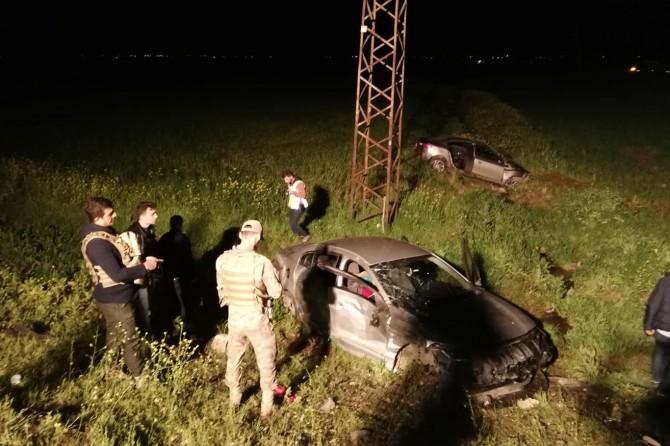 Mardin'de trafik kazası: Bir ölü 3 yaralı