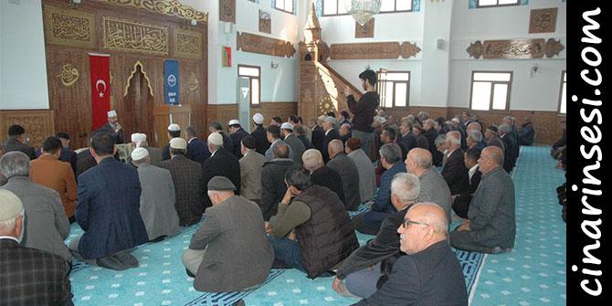 Çınar Eski Mahalle Camii dualarla açıldı