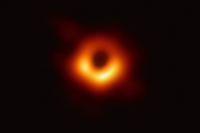 "The first-ever ""black hole"" photographed"