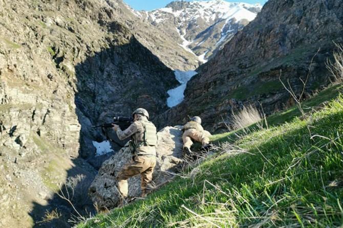 Diyarbakır'da PKK'ye ait 11 kış sığınağı bulundu